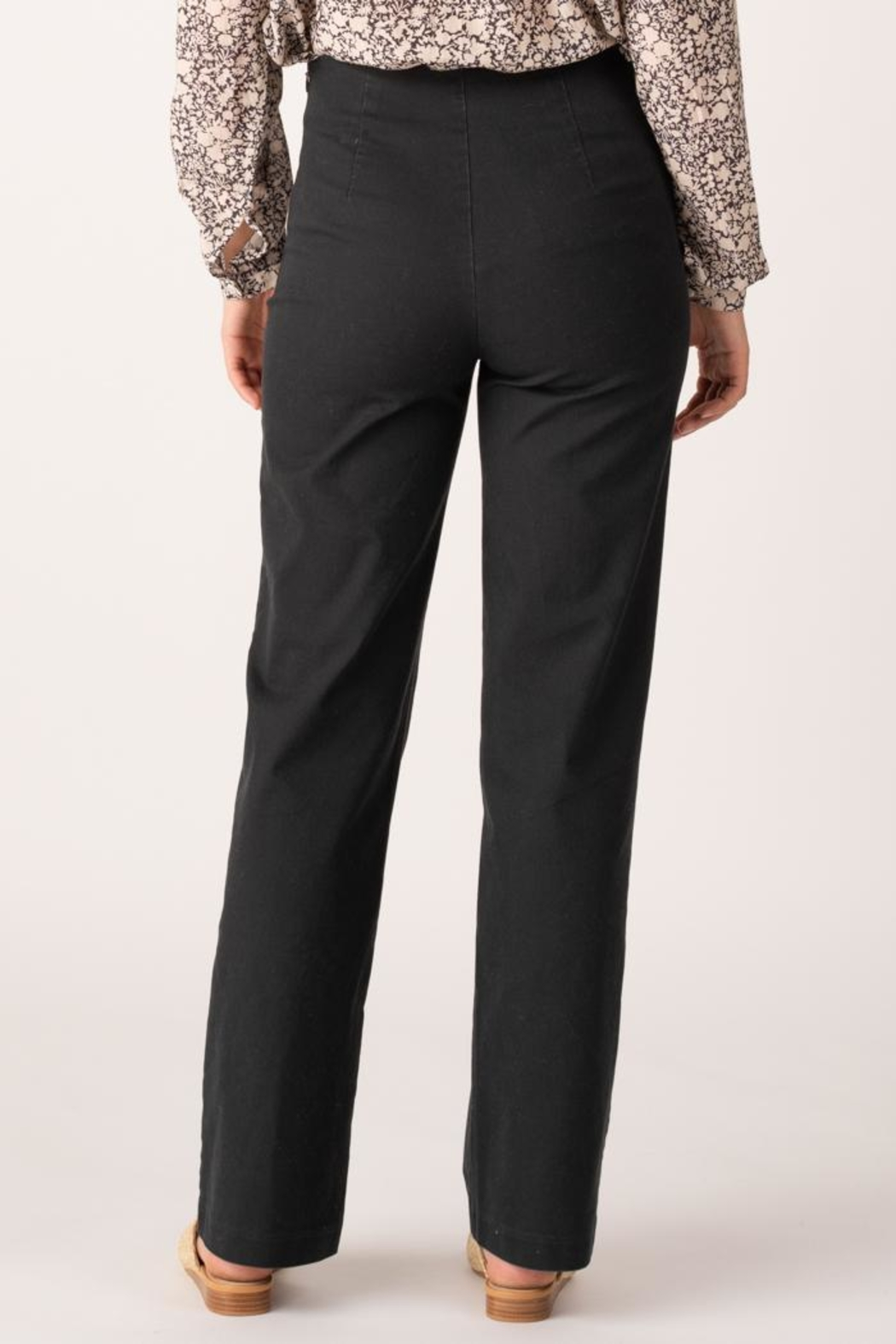 Margaret O'Leary Lace Up Pant - Side Cropped Image