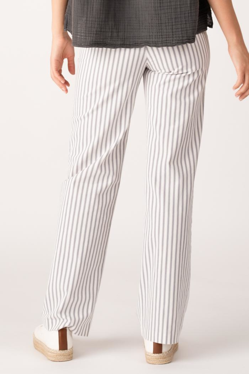 Margaret O'Leary Lace Up Pant - Front Full Image