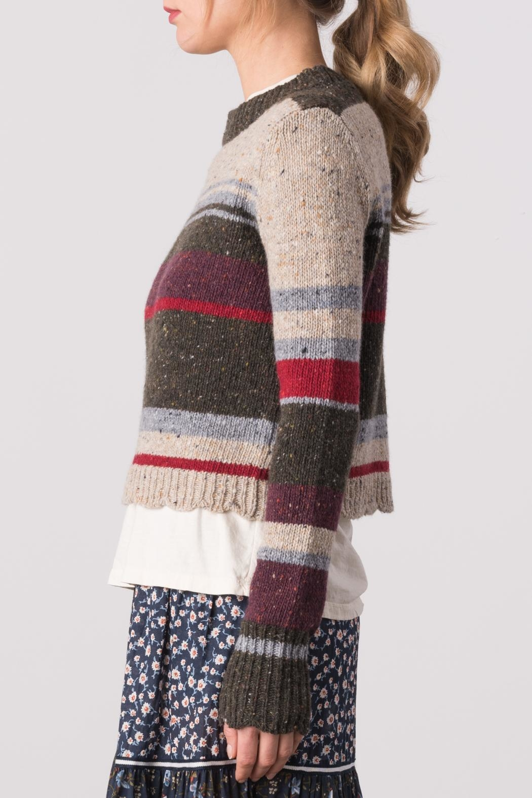 Margaret O'Leary Lindsay Pullover - Side Cropped Image
