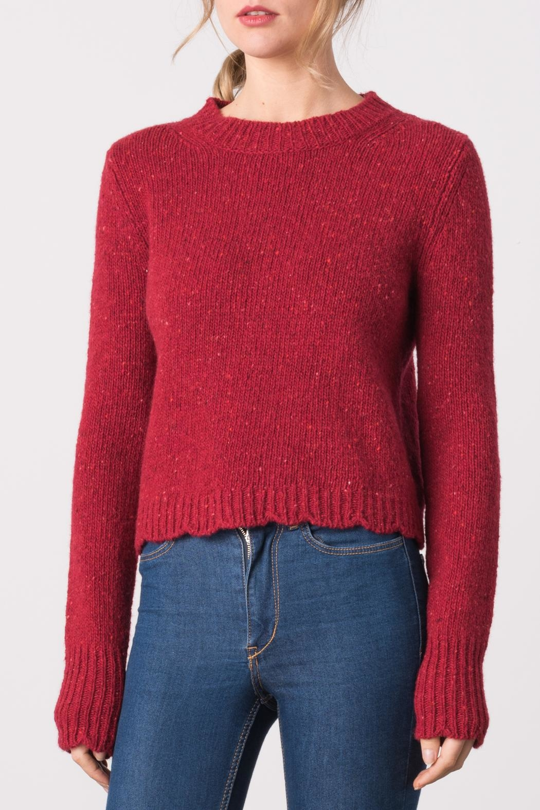 Margaret O'Leary Lindsay Pullover - Front Cropped Image