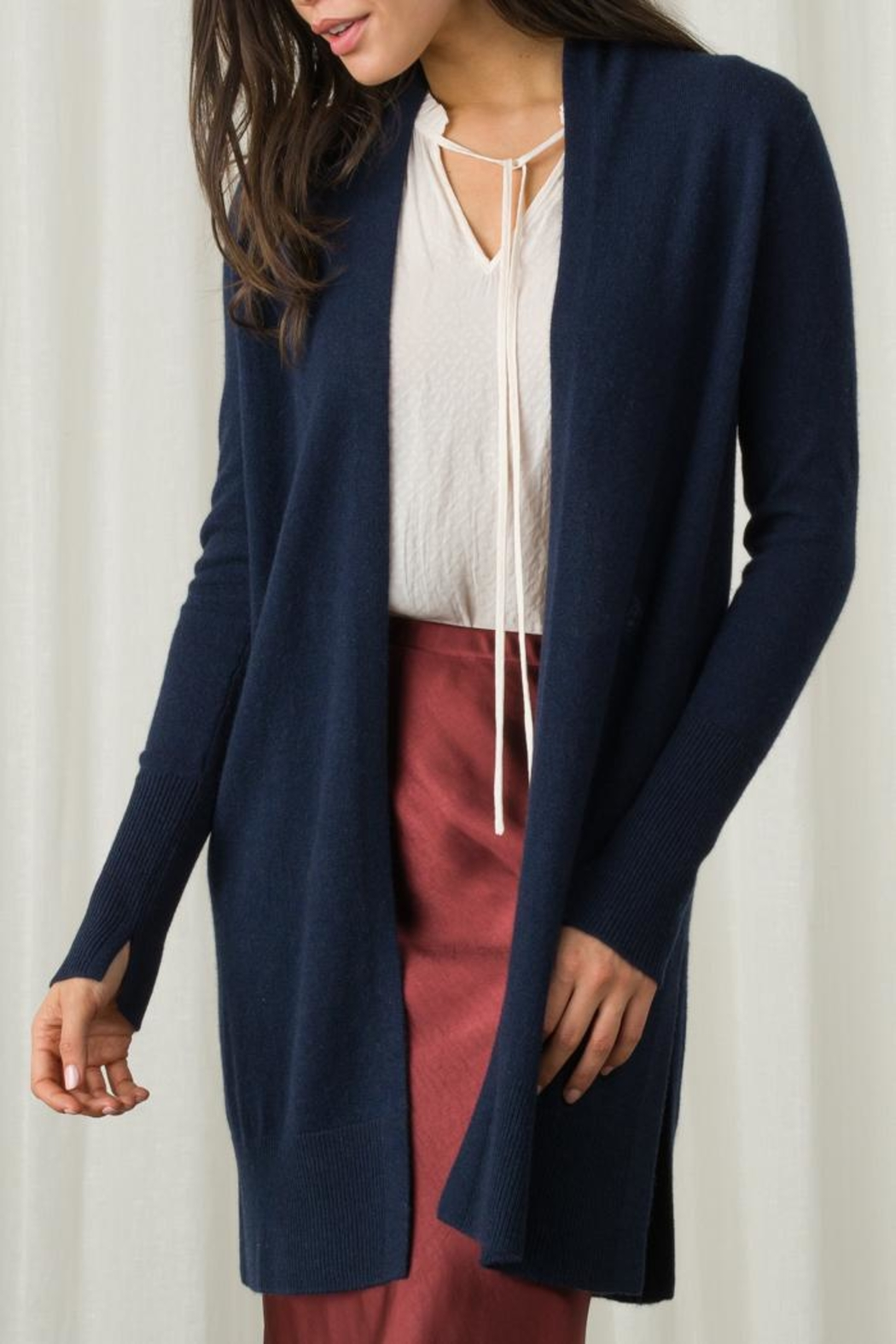Margaret O'Leary Long Duster - Front Cropped Image