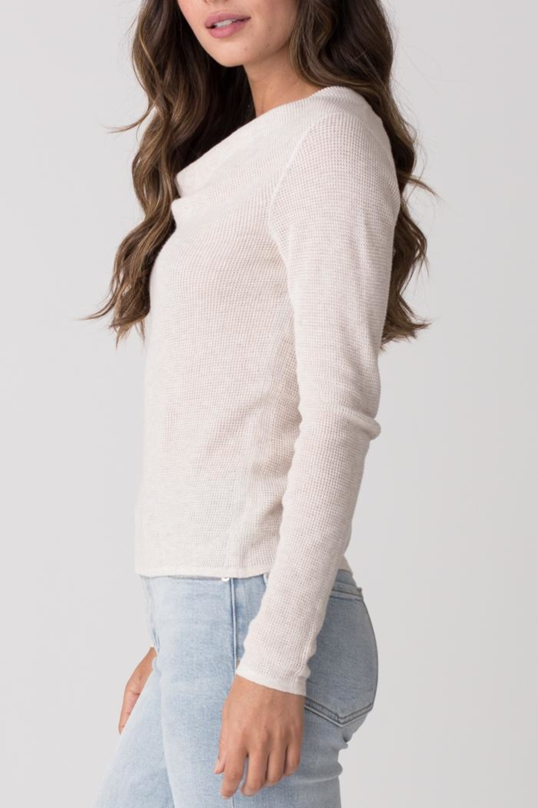 Margaret O'Leary Longsleeve Thermal Cowl - Front Full Image