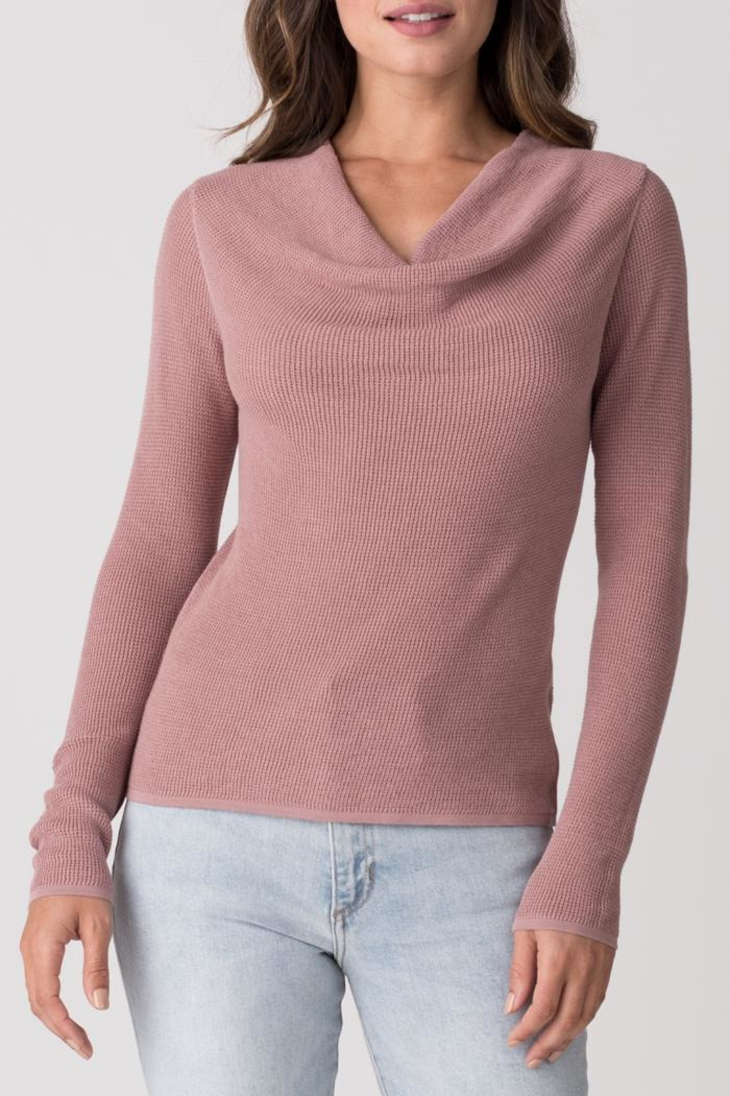 Margaret O'Leary Longsleeve Thermal Cowl - Front Cropped Image
