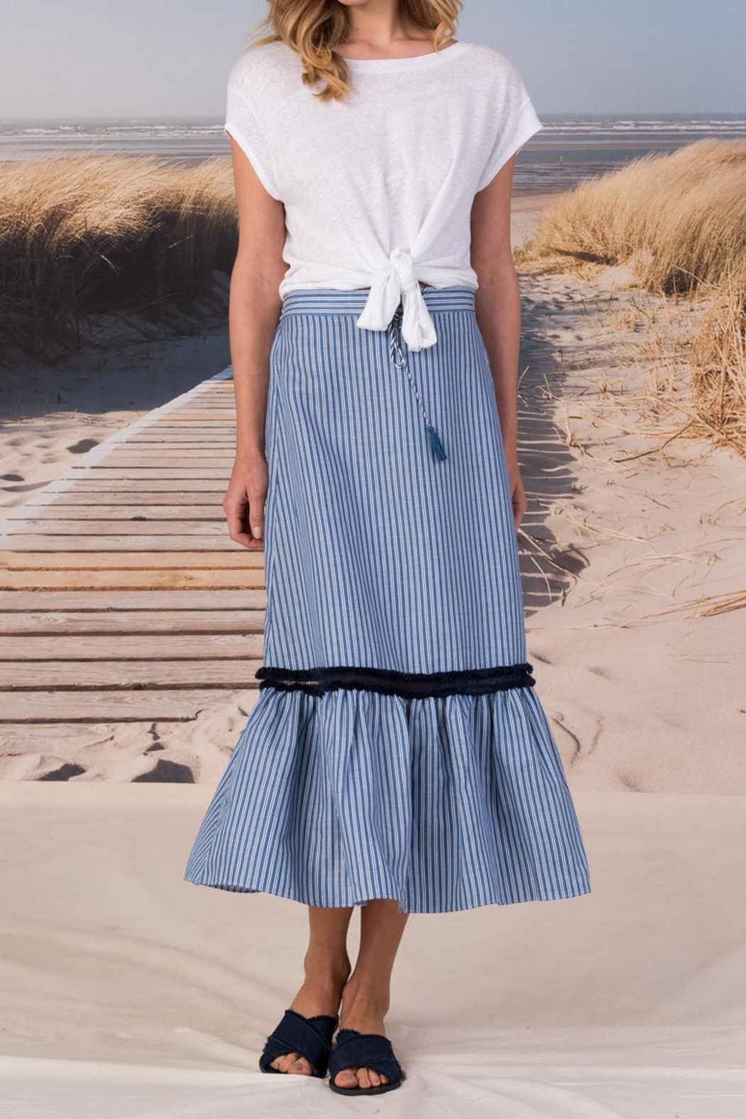 Margaret O'Leary Maison Skirt - Front Cropped Image