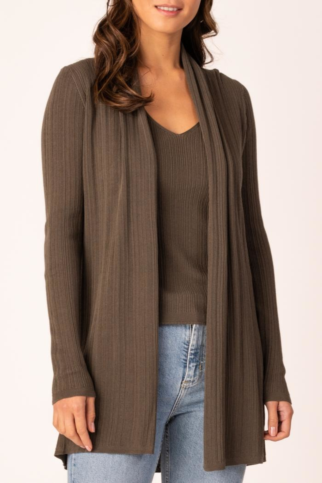 Margaret O'Leary Marcia Rib Duster - Front Cropped Image