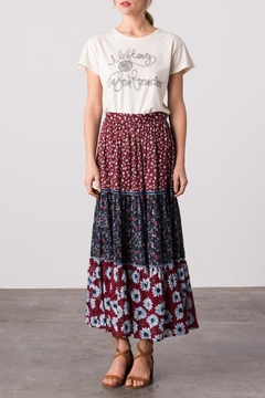 Shoptiques Product: Maria Tiered Skirt