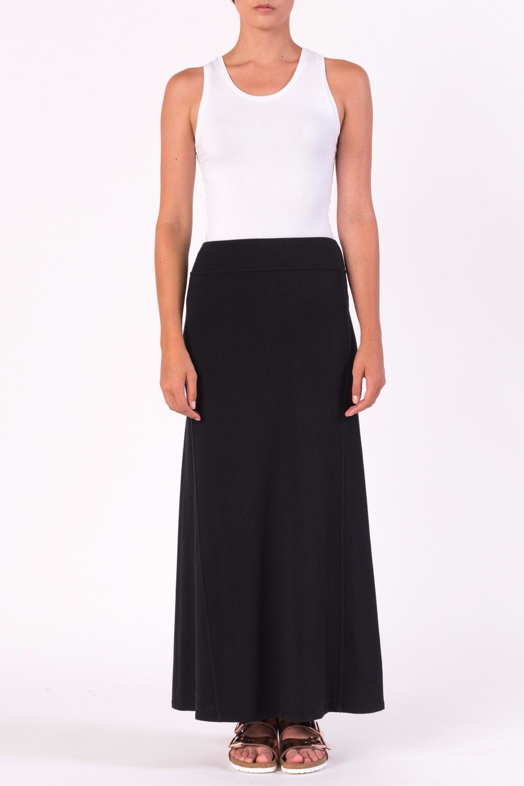 Margaret O'Leary Maxi Panel Skirt - Front Cropped Image
