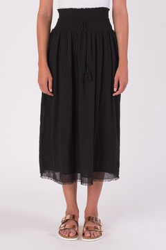 Shoptiques Product: Midi Smocked Skirt