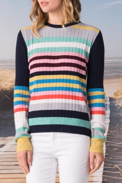 Margaret O'Leary Multi Stripe Pullover - Product List Image