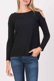 Margaret O'Leary Natalie Peek Shoulder Top - Product Mini Image