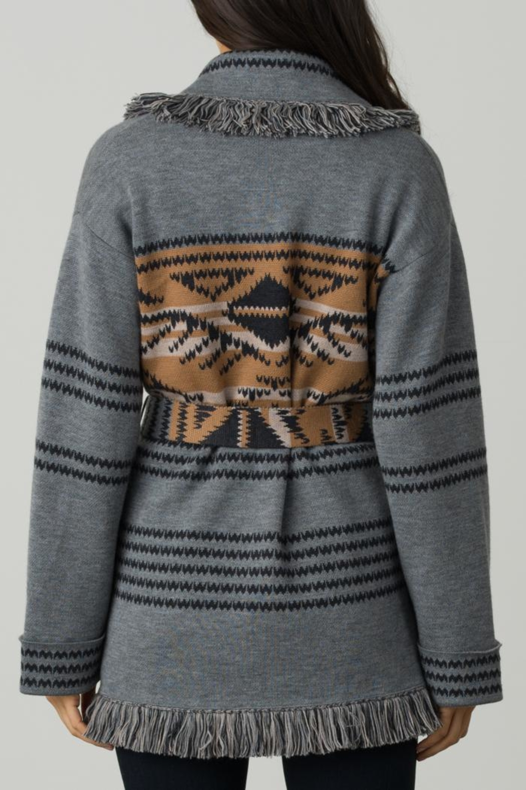 Margaret O'Leary Navajo Shawl Collar - Front Full Image