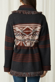 Margaret O'Leary Navajo Shawl Collar - Front full body