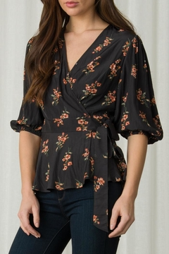 Margaret O'Leary Nora Wrap Top - Product List Image