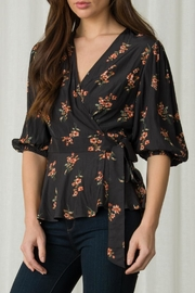 Margaret O'Leary Nora Wrap Top - Product Mini Image