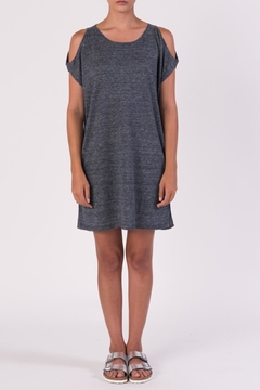 Margaret O'Leary Gray Off Shoulder Dress - Alternate List Image