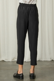Margaret O'Leary Paperbag Silk Pant - Back cropped