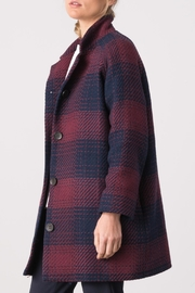 Margaret O'Leary Plaid Penny Coat - Side cropped