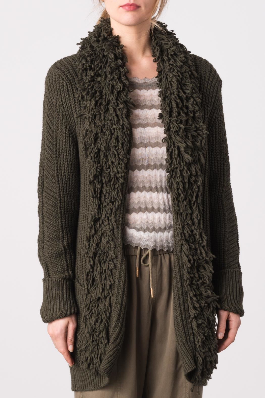 Margaret O'Leary Pia Cardigan - Front Cropped Image