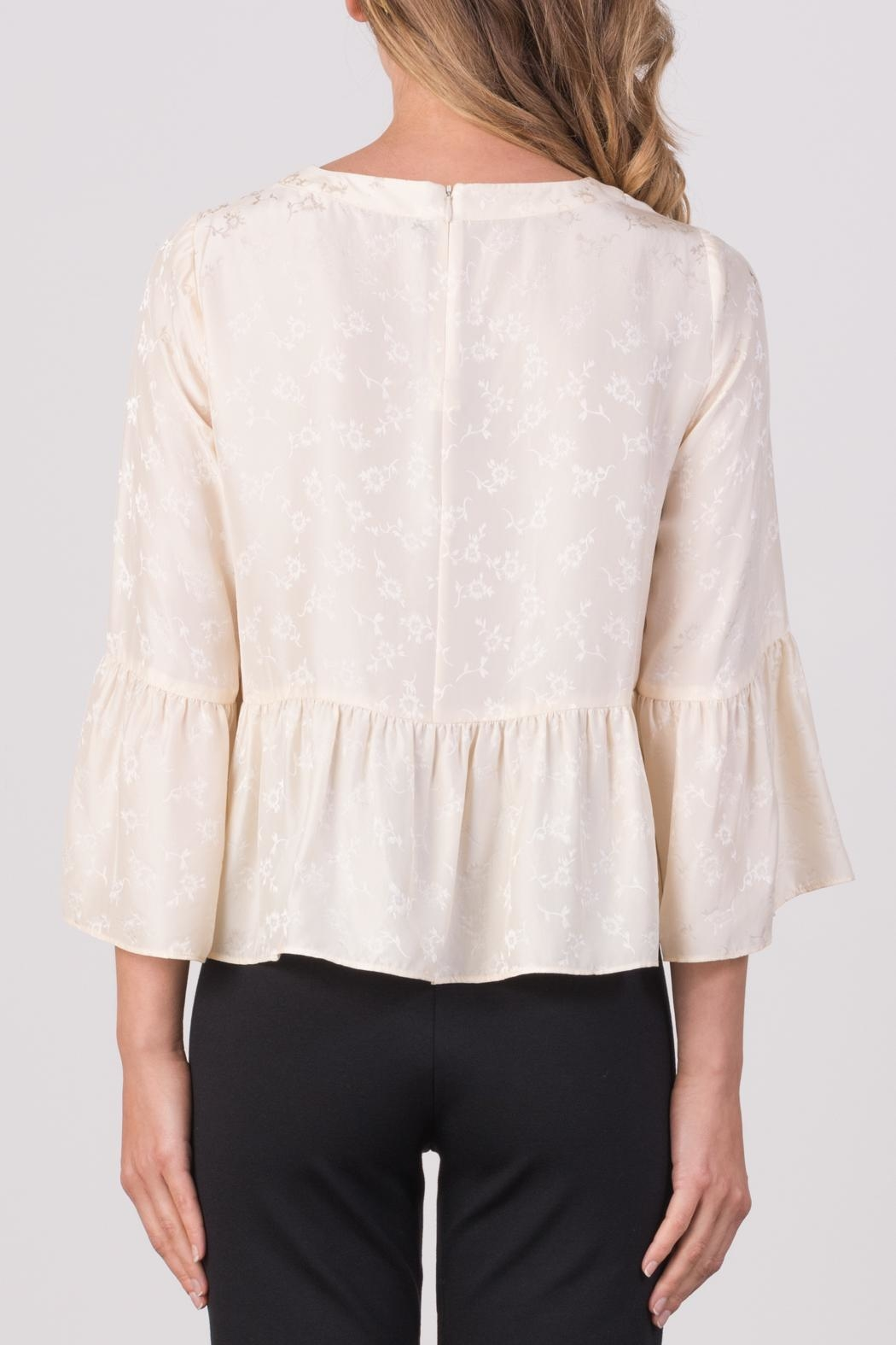 Margaret O'Leary Pippa Top - Back Cropped Image