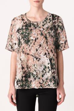 Shoptiques Product: Printed Silk Tee