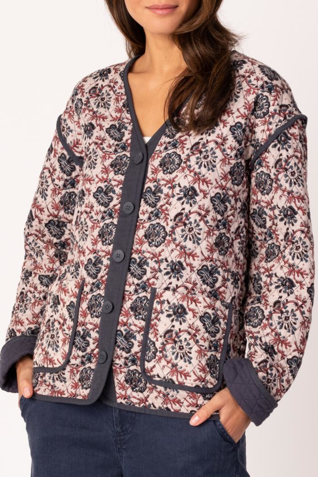 Margaret O'Leary Quilted Jacket - Front Cropped Image