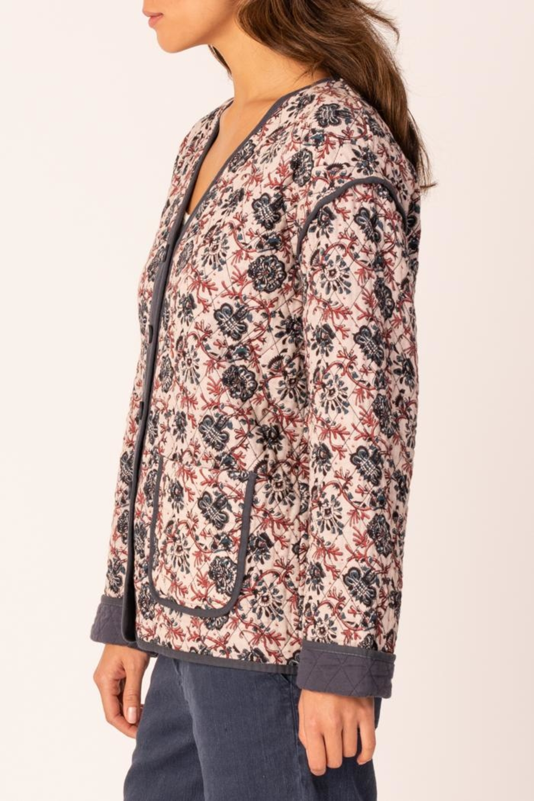 Margaret O'Leary Quilted Jacket - Front Full Image