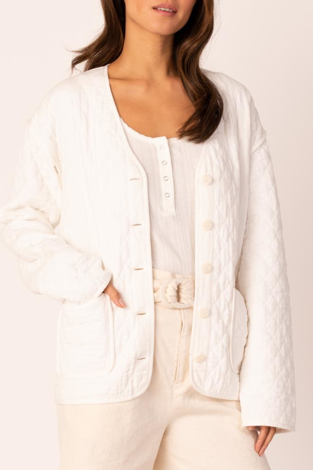Margaret O'Leary Quilted Jacket - Main Image