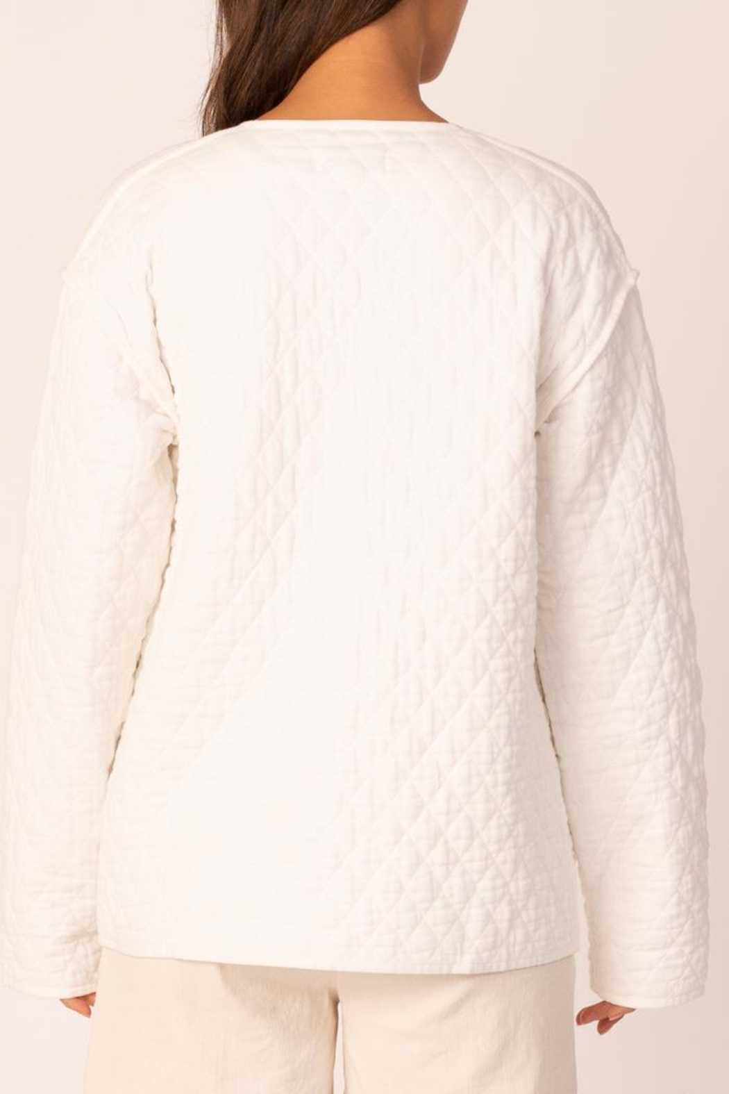 Margaret O'Leary Quilted Jacket - Side Cropped Image