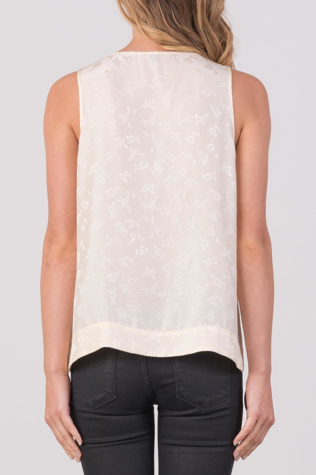 Margaret O'Leary Rachel Tank Top - Back Cropped Image