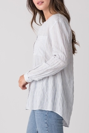 Margaret O'Leary Relaxed Striped Shirt - Front full body