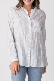 Margaret O'Leary Relaxed Striped Shirt - Front cropped