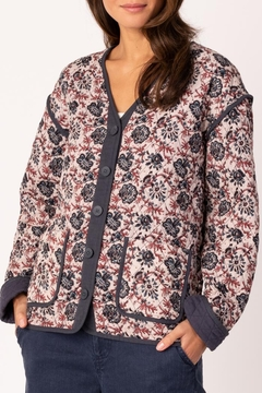 Margaret O'Leary Reversible Quilted Jacket - Product List Image