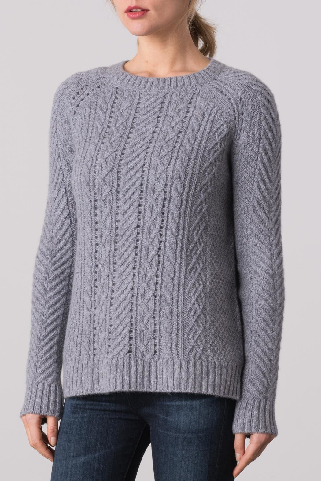 Margaret O'Leary Sarah Cable Crew Sweater - Main Image