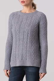 Margaret O'Leary Sarah Cable Crew Sweater - Product Mini Image