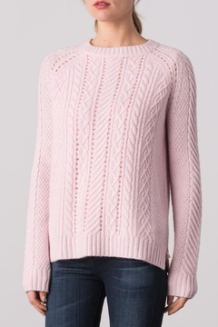 Margaret O'Leary Sarah Cable Crew Sweater - Product List Image