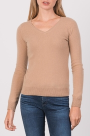 Margaret O'Leary Simple Vee Top - Product Mini Image