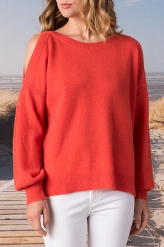 Margaret O'Leary Slash Shoulder Pullover - Product List Image