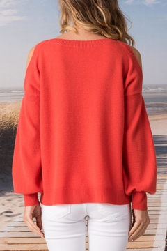 Margaret O'Leary Slash Shoulder Pullover - Alternate List Image