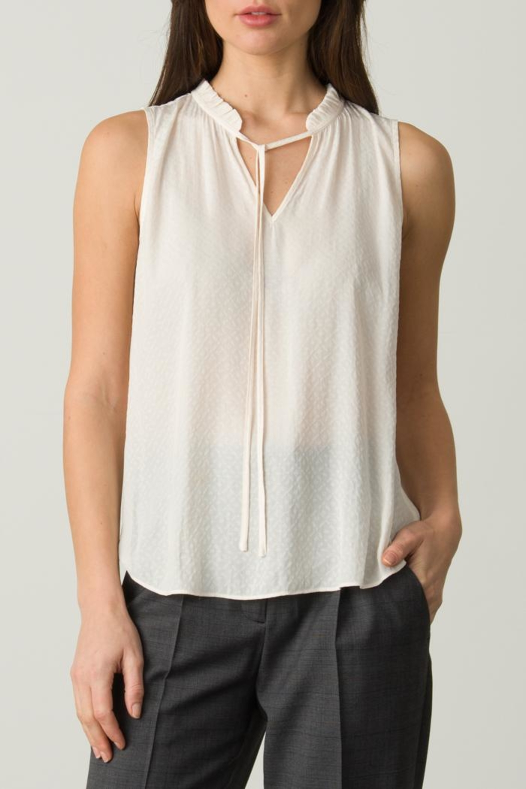 Margaret O'Leary Sleeveless Tie Top - Main Image