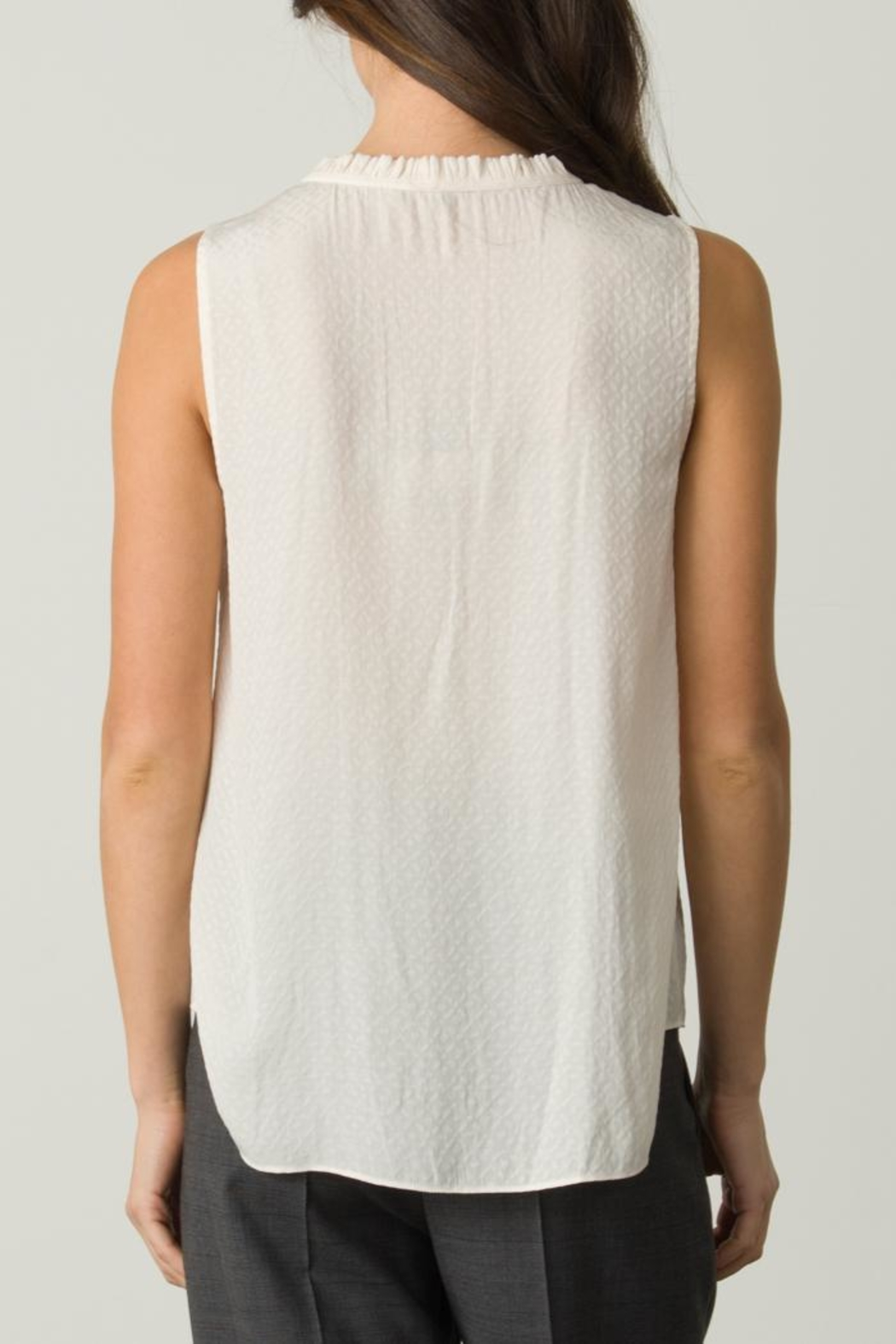 Margaret O'Leary Sleeveless Tie Top - Front Full Image