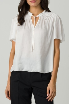Margaret O'Leary Smocked Tie Top - Product List Image