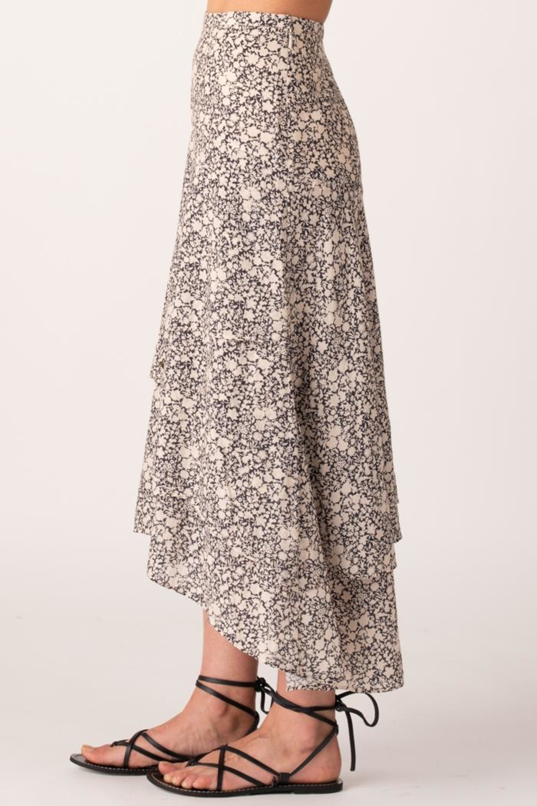 Margaret O'Leary Sonia Tiered Skirt - Front Cropped Image
