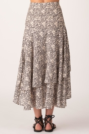 Margaret O'Leary Sonia Tiered Skirt - Front full body