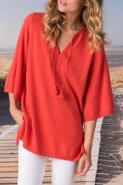 Margaret O'Leary Split Neck Pullover - Product List Image