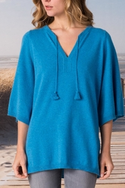 Margaret O'Leary Split Neck Pullover - Front cropped