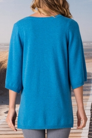Margaret O'Leary Split Neck Pullover - Front full body