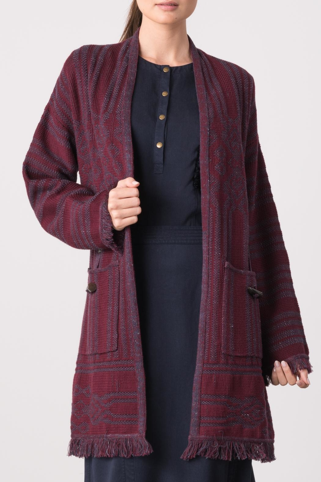 Margaret O'Leary Thea Cardigan - Front Cropped Image