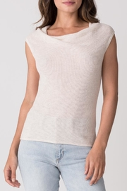 Margaret O'Leary Thermal Cowl Tank - Front cropped