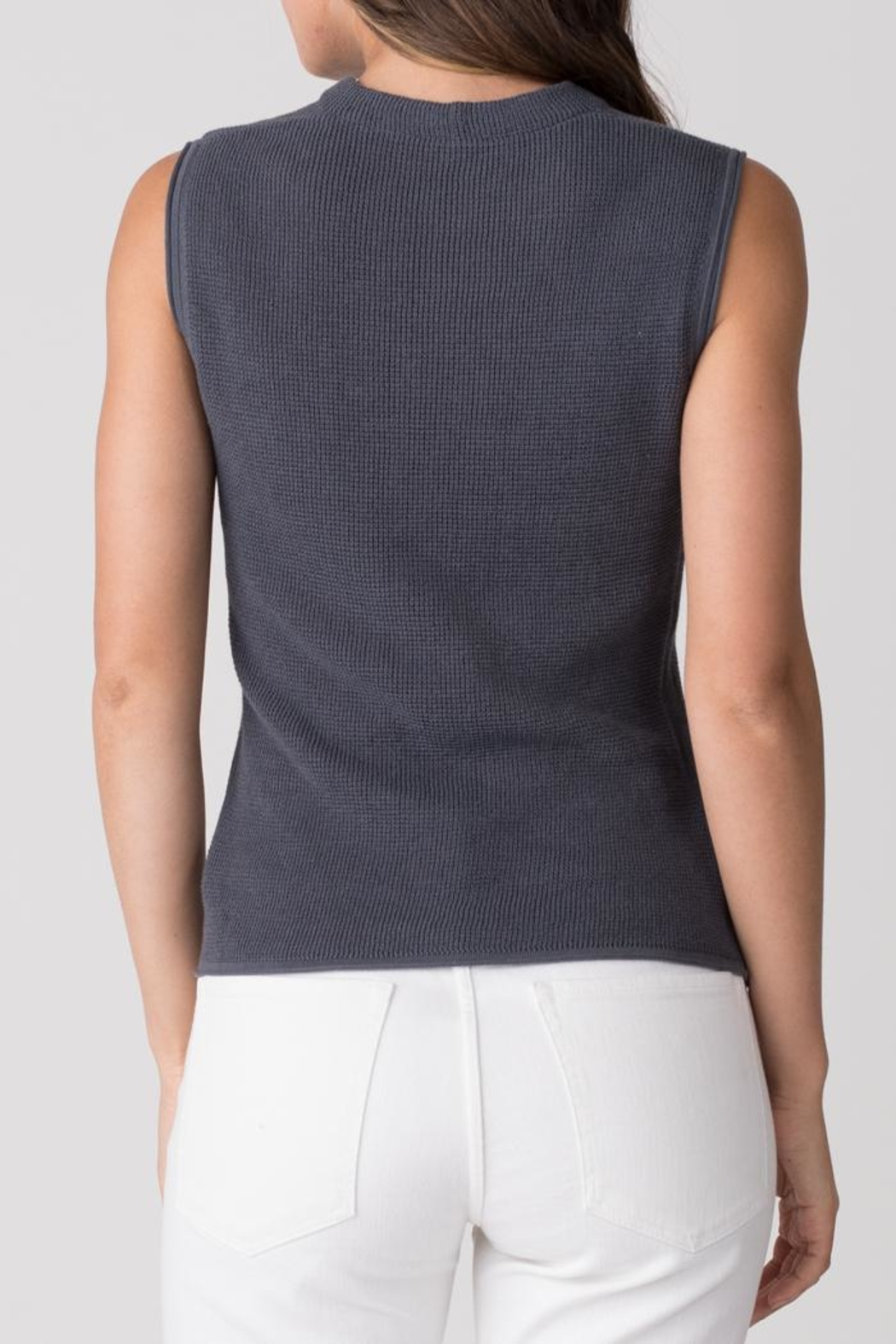 Margaret O'Leary Thermal Cowl Tank - Side Cropped Image