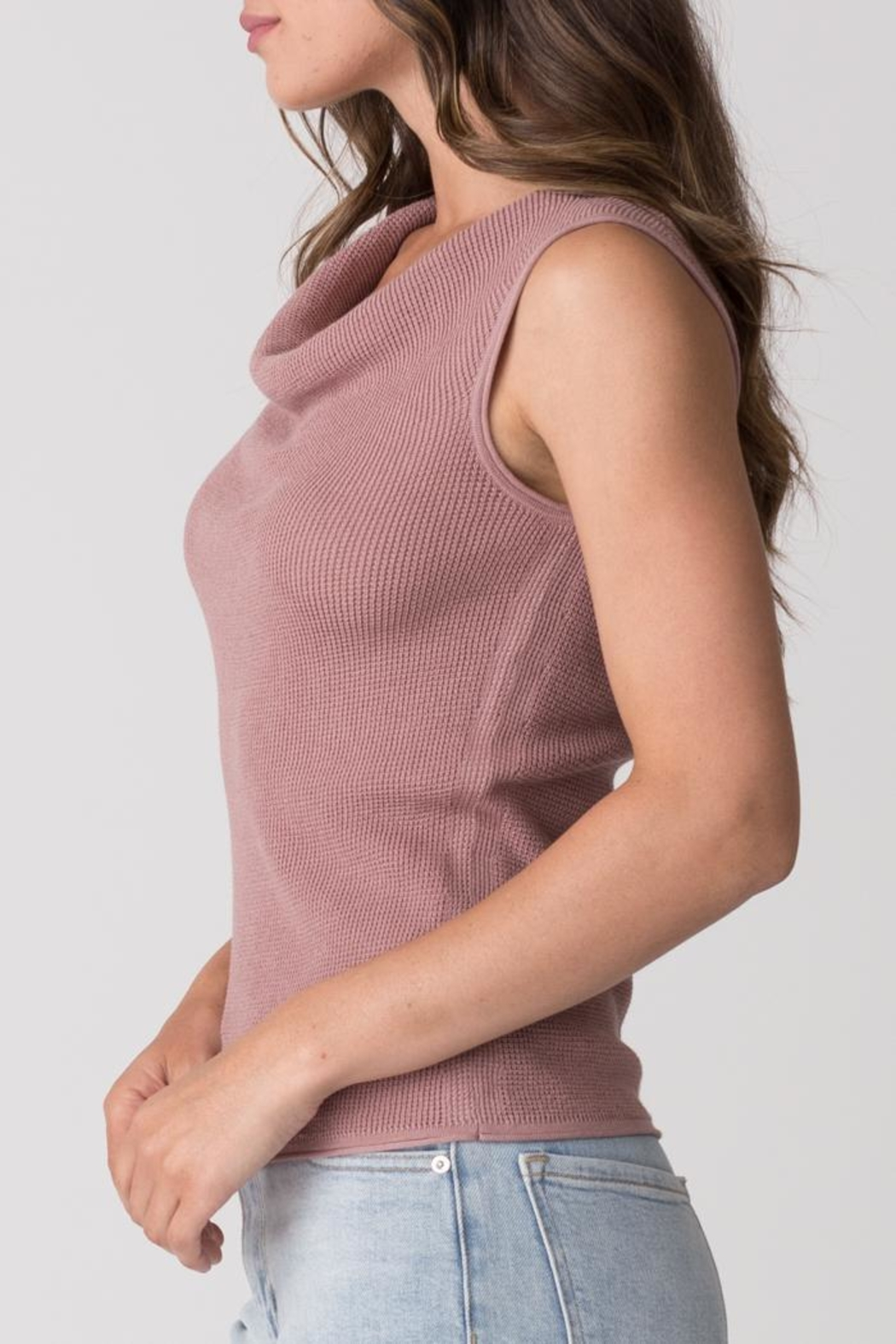 Margaret O'Leary Thermal Cowl Tank - Front Full Image